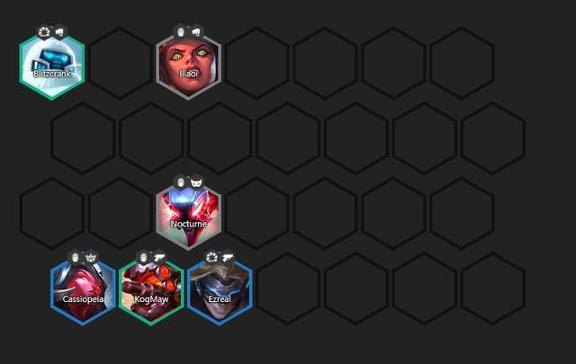 đội hình cỗ máy chiến đấu dtcl giữa game