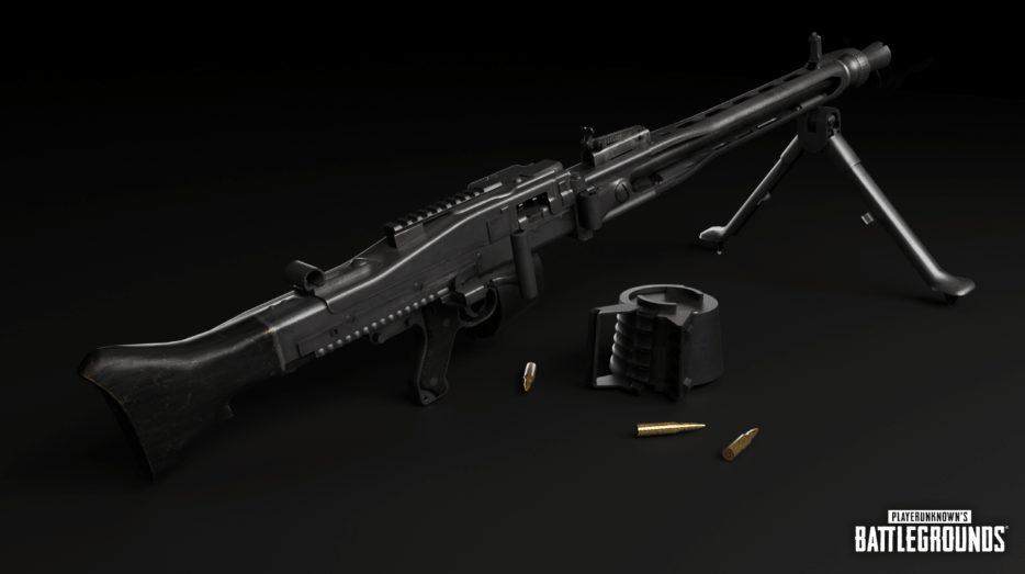 Khẩu súng mới MG3 PUBG
