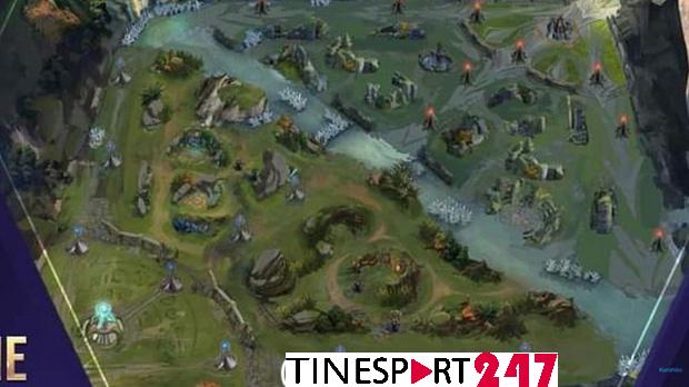 Rò rỉ thông tin về map Liên Quân 4.0