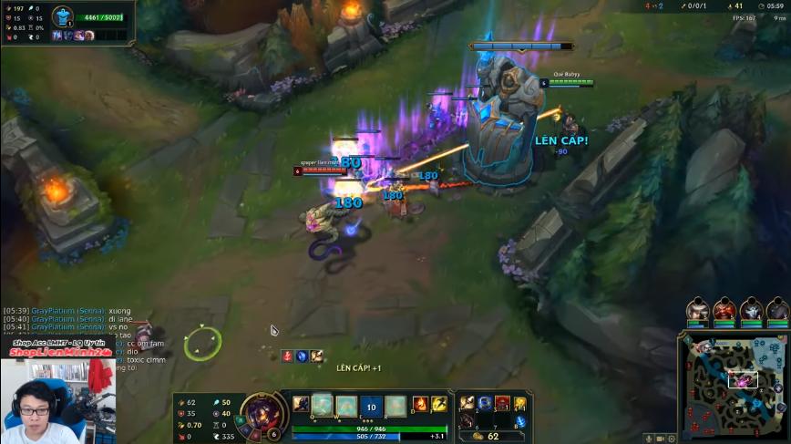 Cách đánh Viktor mid hiệu quả đầu trận