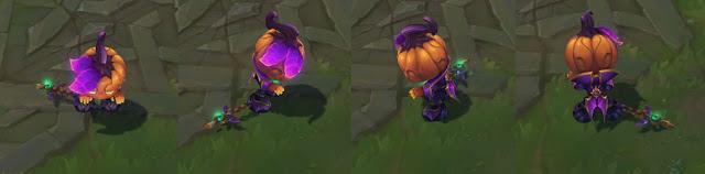 trang phục halloween 2020 amumu hoàng tử bí ngô