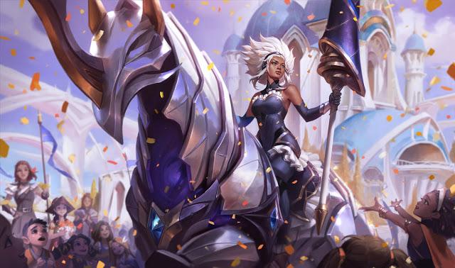 Trang phục Battle Queen Rell