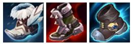 Giày Bạc, Giày Ninja, Giày Thủy Ngân