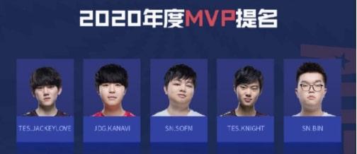 SofM được đề cử danh hiệu MVP mùa giải 2020