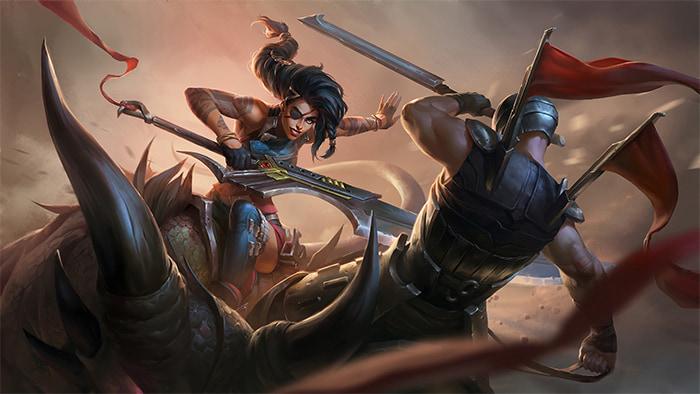 Samira được Riot Games điều chỉnh tại DTCL 11.2