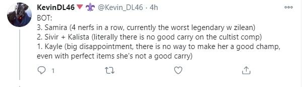KevinDL46 nhận xét về Kayle DTCL 4.5