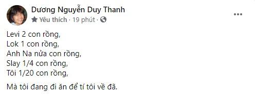 HLV Tinikun đăng stt ám chỉ GAM đang nợ lương