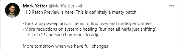 Riot Games thông báo thay đổi về trang bị